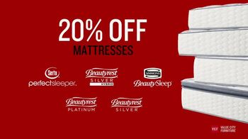 Value City Furniture Presidents' Day Mattress Sale TV Spot, 'Final Week' - Thumbnail 3