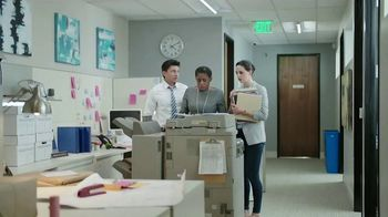 California Almonds TV Spot, 'Almonds vs. the Printer That's Out of Toner' - Thumbnail 2