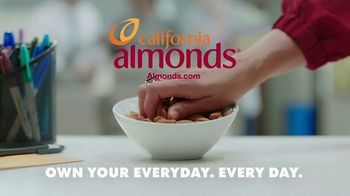 California Almonds TV Spot, 'Almonds vs. the Printer That's Out of Toner' - Thumbnail 9