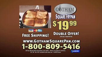 Gotham Steel Square Frypan TV Spot, 'More Cooking Space' - Thumbnail 10