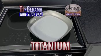 Gotham Steel Square Frypan TV Spot, 'More Cooking Space' - Thumbnail 3