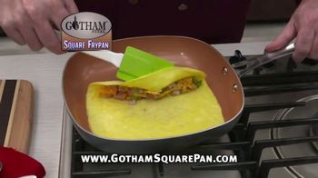 Gotham Steel Square Frypan TV Spot, 'More Cooking Space' - Thumbnail 4