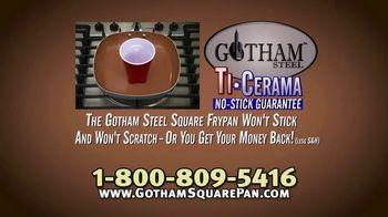 Gotham Steel Square Frypan TV Spot, 'More Cooking Space' - Thumbnail 8