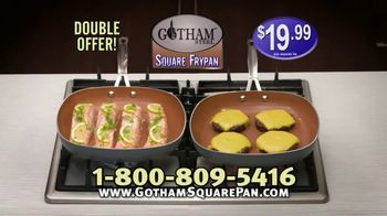 Gotham Steel Square Frypan TV Spot, 'More Cooking Space' - Thumbnail 9