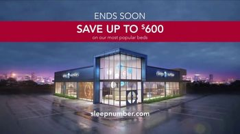 Sleep Number Spring Clearance Event TV Spot, 'Save up to $600' - Thumbnail 7