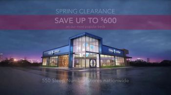 Sleep Number Spring Clearance Event TV Spot, 'Save up to $600' - Thumbnail 6