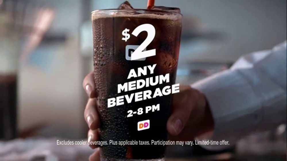 Dunkin' Donuts TV Commercial, 'Don't Miss Happy Hour'