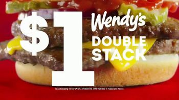 Wendy's Double Stack TV Spot, 'Get It for a Dollar' - Thumbnail 9