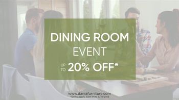 Dania Dining Room Event TV Spot, 'Casual to Formal' - Thumbnail 10