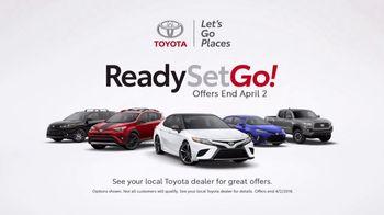 Toyota Ready Set Go! TV Spot, 'Spring Magic' [T1] - Thumbnail 6