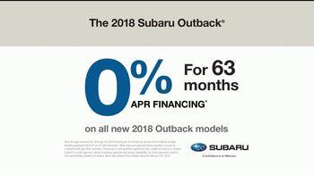 2018 Subaru Outback TV Spot, 'See the World' [T2] - Thumbnail 9