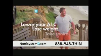 Nutrisystem D TV Spot, \'Take Control and Manage Your Type 2 Diabetes\'