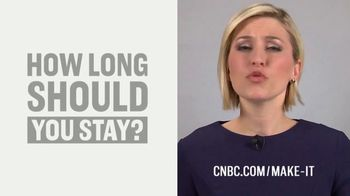 CNBC Make It TV Spot, 'Job Hopping' Featuring Morgan Brennan
