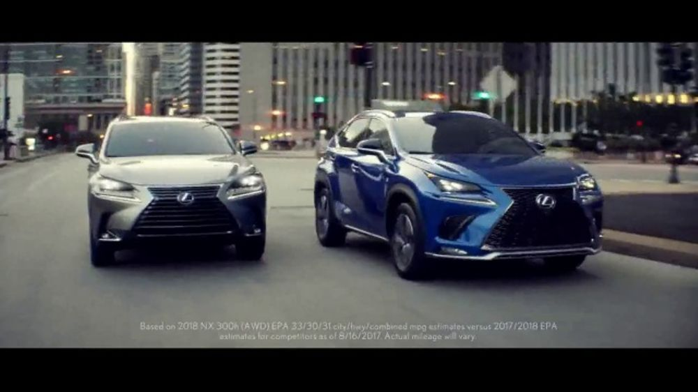 Lexus Special Presidents' Day Offer TV Commercial, 'Glass World: 2018 NX 300' [T2]