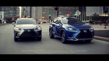 Lexus Special Presidents' Day Offer TV Spot, 'Glass World: 2018 NX 300' [T2] - 347 commercial airings