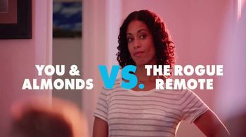 California Almonds TV Spot, 'You & Almonds vs. the Rogue Remote'