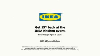 IKEA Kitchen Event TV Spot, 'School Lunch: Financing' - Thumbnail 7