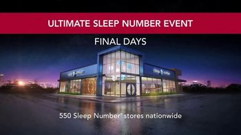 Sleep Number Ultimate Sleep Number Event TV Spot, 'Snoring' - Thumbnail 6