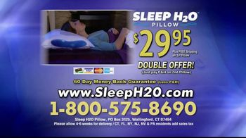 Sleep H2O Pillow TV Spot, 'Waterbed for Your Head' - Thumbnail 8