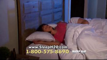 Sleep H2O Pillow TV Spot, 'Waterbed for Your Head' - Thumbnail 5