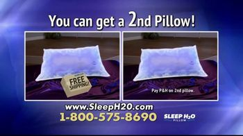 Sleep H2O Pillow TV Spot, 'Waterbed for Your Head' - Thumbnail 6