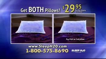 Sleep H2O Pillow TV Spot, 'Waterbed for Your Head' - Thumbnail 7