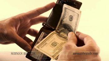 SERMAN BRANDS TV Spot, 'Minimalist Wallet' Featuring Kevin Harrington