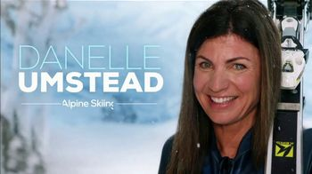 XFINITY X1 Voice Remote TV Spot, 'Alpine Skiing' Featuring Danelle Umstead - 4 commercial airings