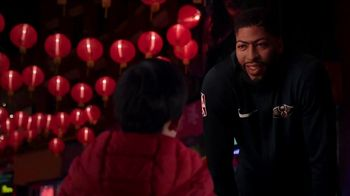 NBA TV Spot, '2018 Chinese New Year: Fireworks' Featuring Anthony Davis - Thumbnail 7