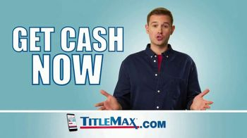 TitleMax TV Spot, 'Turn Your Title Into Cash'