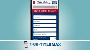TitleMax TV Spot, 'Turn Your Title Into Cash' - Thumbnail 2