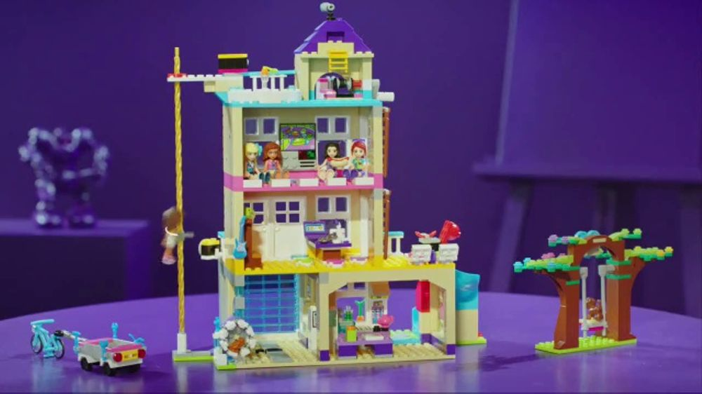 Lego Friends Friendship House Tv Commercial Clubhouse