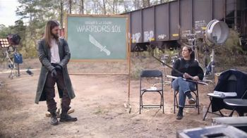 The Walking Dead: No Man's Land TV Spot, 'Playtime With Jesus: Warrior 101'