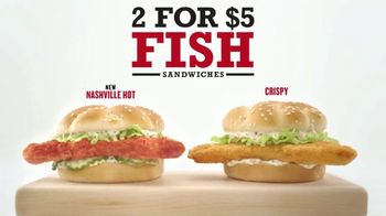 Arby's 2 for $5 Fish Sandwiches TV Spot, 'Buy a Boat Already' - Thumbnail 2