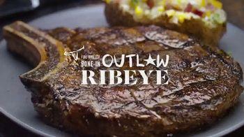 Longhorn Steakhouse Outlaw Ribeye TV Spot, 'Bone-In Bold Flavor' - Thumbnail 7