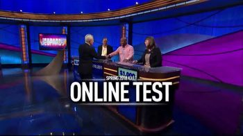 Jeopardy! Spring 2018 Adult Online Test TV Spot, 'You Could Be Next' - Thumbnail 7