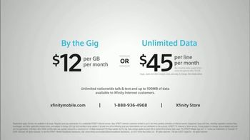 XFINITY Mobile TV Spot, 'One Thing: By the Gig or Unlimited' - Thumbnail 6