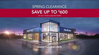 Sleep Number Spring Clearance Event TV Spot, 'Amazing' - Thumbnail 8