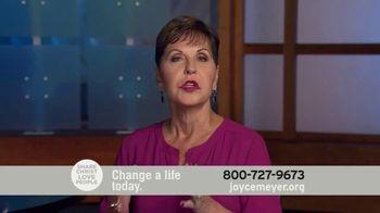 Joyce Meyer Ministries TV Spot, 'Change a Life Today' - Thumbnail 5
