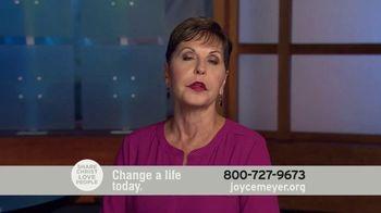 Joyce Meyer Ministries TV Spot, 'Change a Life Today' - Thumbnail 7
