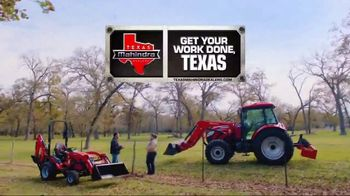 Mahindra 41 HP 4540 4WD With Loader TV Spot, 'Recommend to a Neighbor' - Thumbnail 8