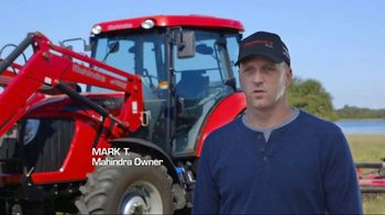 Mahindra 41 HP 4540 4WD With Loader TV Spot, 'Recommend to a Neighbor'