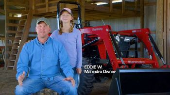 Mahindra 41 HP 4540 4WD With Loader TV Spot, 'Recommend to a Neighbor' - Thumbnail 5