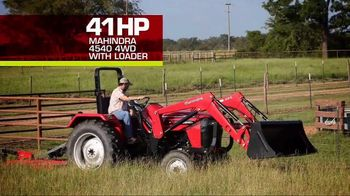 Mahindra 41 HP 4540 4WD With Loader TV Spot, 'Recommend to a Neighbor' - Thumbnail 6