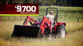 Mahindra 41 HP 4540 4WD With Loader TV Spot, 'Recommend to a Neighbor' - Thumbnail 7