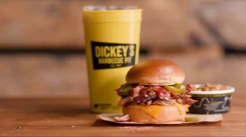 Dickey's Jalapeno Cheddar Spicy Pulled Pork Sandwich TV Spot, 'Giddyup' - Thumbnail 7