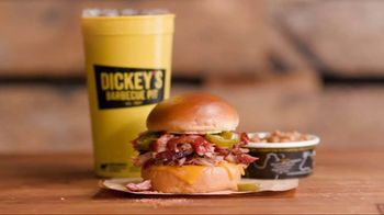Dickey's Jalapeno Cheddar Spicy Pulled Pork Sandwich TV Spot, 'Giddyup' - Thumbnail 8