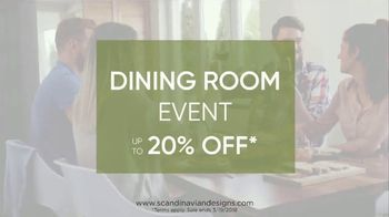 Scandinavian Designs Dining Room Event TV Spot, 'From Casual to Formal' - Thumbnail 10