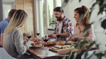Scandinavian Designs Dining Room Event TV Spot, 'From Casual to Formal' - Thumbnail 2