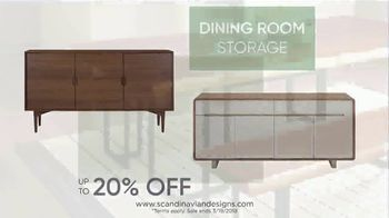 Scandinavian Designs Dining Room Event TV Spot, 'From Casual to Formal' - Thumbnail 8